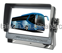 "C-CM751, 7"" Monitor 2 AV input for truck easy using"