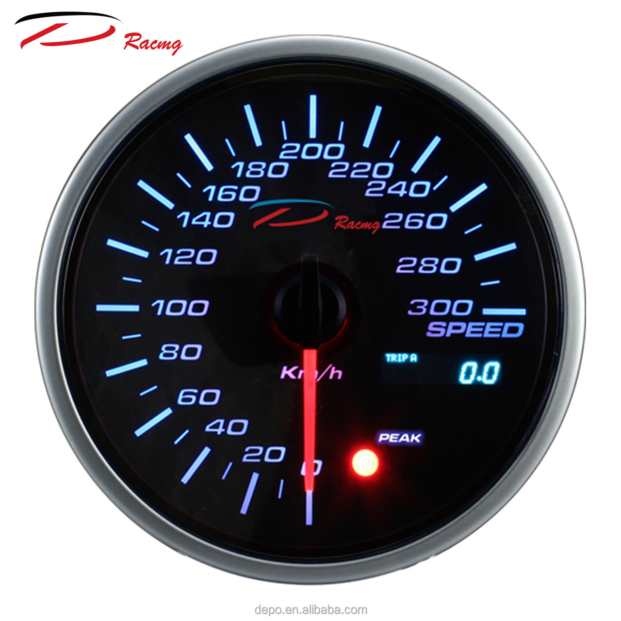 95mm ODO Meter OLED auto gauge depo racing read car ECU Speedometer