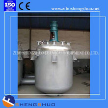 Stainless steel reactor with outside coil heating Stainless steel shell
