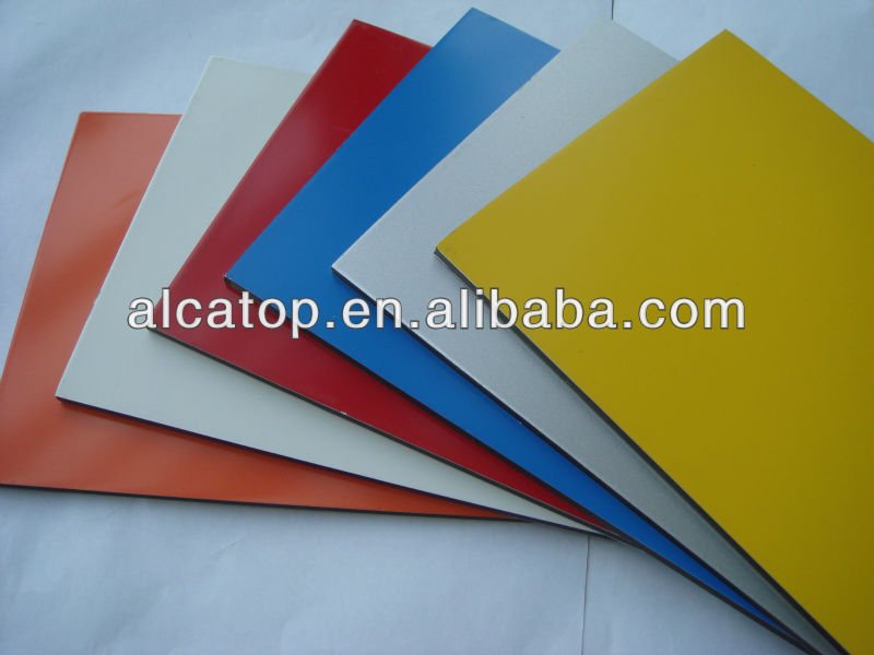 Aluminium and plastic composite panel <strong>101</strong>