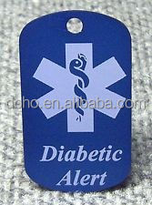 high quality custom medical dog tags cheap Personalized Medical Alert Dog Tag