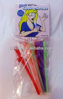 Halloween toys/Party Funny Prank dick sipping straws HH-0198