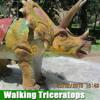 Ride on toys other amusement mechanical walking dinosaur for children