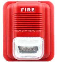FS-03,DC12V-24V 3 sounds , Fire alarm with strobe