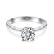 925 sterling silver antique ring moissanite imitation jewellery R50852