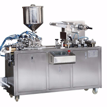 Small Alu PVC Automatic Honey Jam Butter Liquid Blister Packing Machine