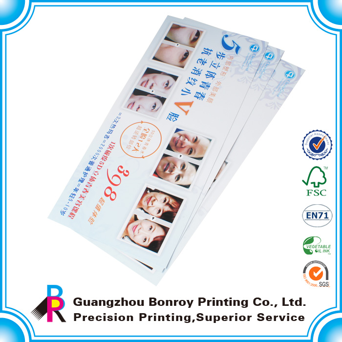 leaflet printing 15years OEM experience good quality