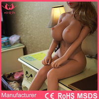 2017 Newest Arrival Life Like Full Silicone Sex Doll For Men With Big Breast