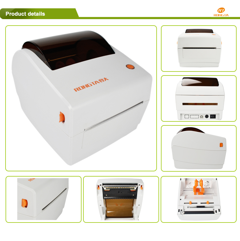 Zebra compatible barcode printer high quality label printing machine