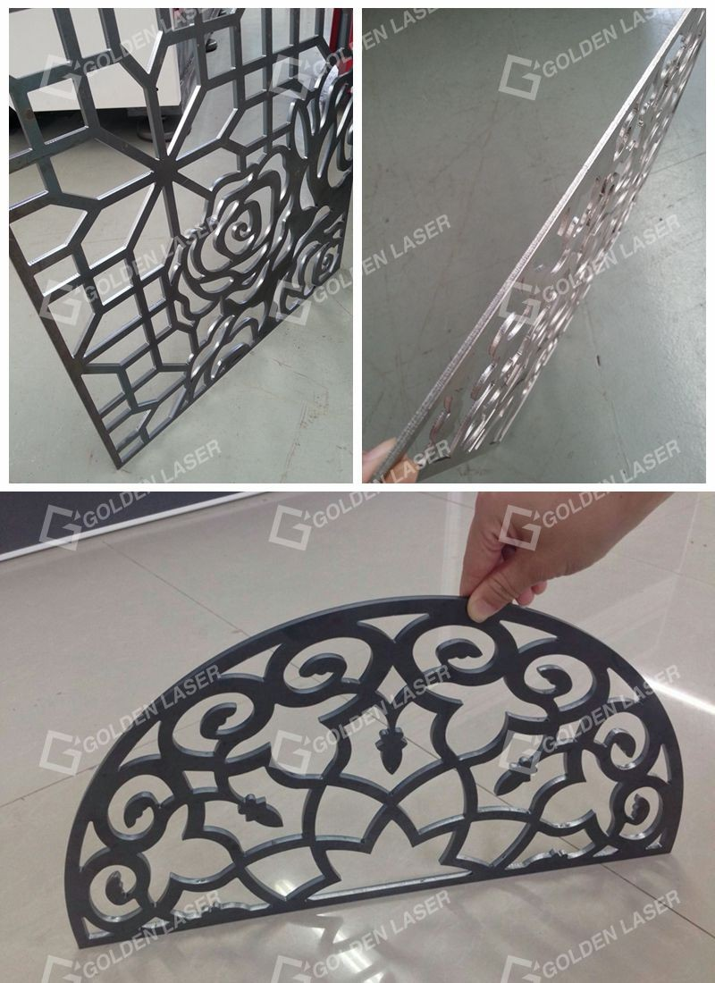 fiber laser cutting metal designs