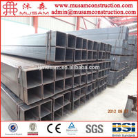 75mm X 75mm steel square tube pipe connector from manufacturer