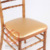 Various Color PU Artificial Leather Chiavari Seat Cushion for Chiavari Chair