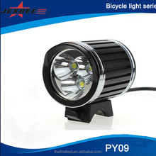 JEXREE 2400Lm Headlight 3X CREE XM-L2 LED Head Front Bike bicycle light rechargable cycling lights