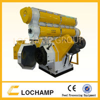 automatic animal and poultry feed pellet making machine with CE approved