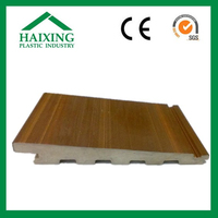 Heat insulated pvc wall panel