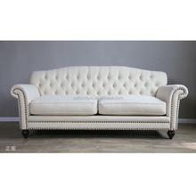 Wholesale couch living room sofa furniture button tufted 2017 new sofa