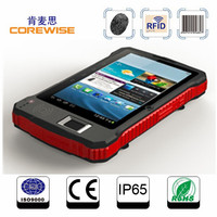 China Supplier CE Certification Quad Core Rugged Android biometric fingerprint Tablet pc