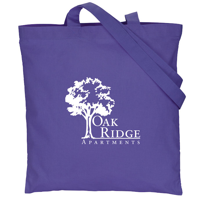 XS-2288 Full color custom printed cotton tote bag for promotion