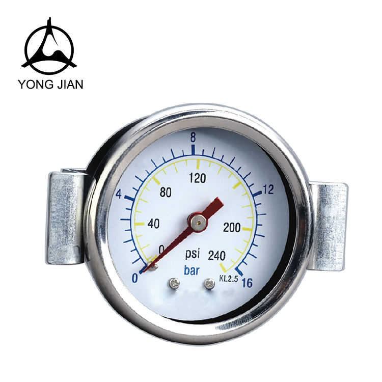 S.S Glycerine Oil Filled Pressure Gauge