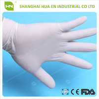 Health care products disposable latex examination gloves
