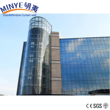 Aluminum High quality curtain wall luxury and class Invisible glass curtain wall