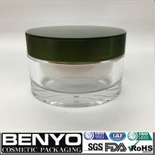 Natural cosmetic packaging/Acrylic Plastic Type Right-Angled jar