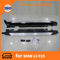 car Running Board Side Step bar for BMW X3 F25 2009 auto accessoires