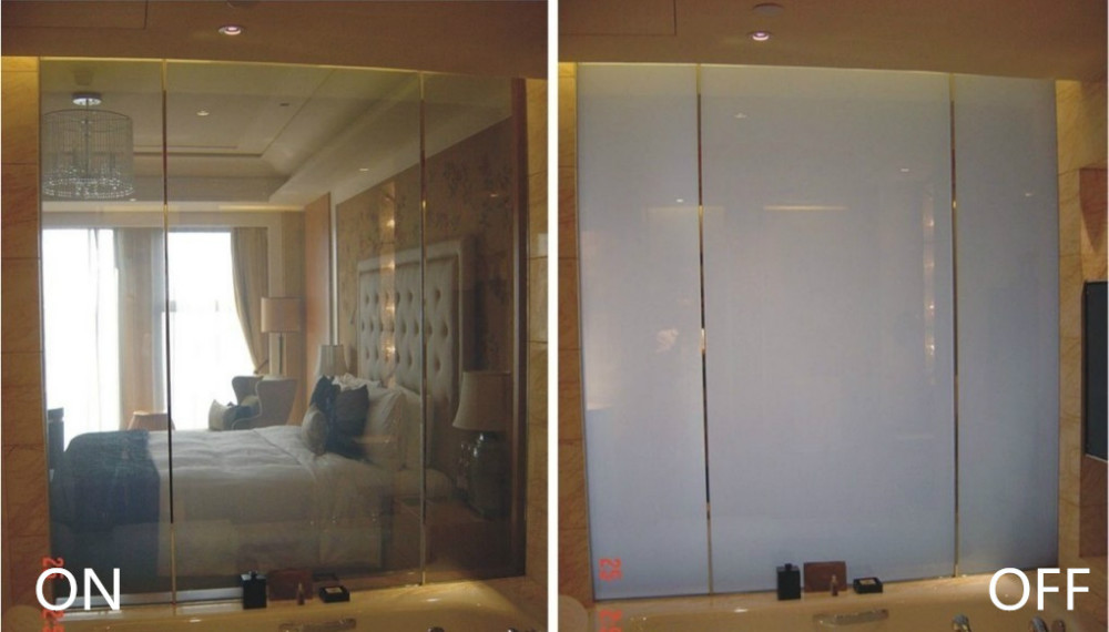 Intelligent adjusting-light glass, privacy glass, LED light glass for door