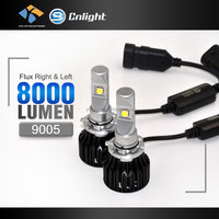 Auto car part led headlight 12v 35w high power led 4000lm driving lights for cars and motorcycles