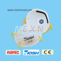 Cleanroom face mask with earloop, mouth cover Alibaba supplier fashion dusy mask Meixin