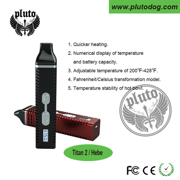 OEM/ODM factory direct sale Dry Herb Titan 2 Vaporizer, titan 2 dry herb Vaporizer HEBE, Dry Herb Titan II with low price