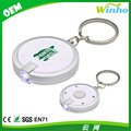 Winho Round Flashlight Keychain