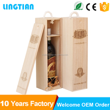 China Factory Wholesale High-End Wooden Wine Glass Display Box