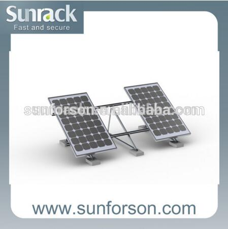 solar power mount triangular system