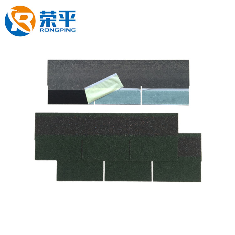 Roofing material cheap wholesale lowes roof tile price back adhesive 3-Tab asphalt shingle