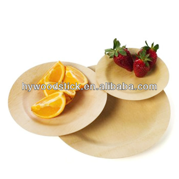 Factory Direct Utensils Wood Plate Kitchen Wood Plate Tableware Wood Plate