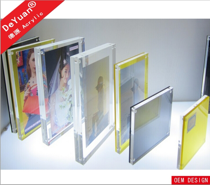 Wholesale Acrylic Mini Magnetic Picture Photo Frame