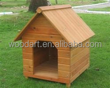 Apex roof simple design cheap kennel, wooden dog house for sale
