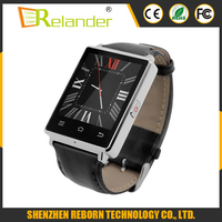 2016 New 1.63 inch MTK6580 Quad core 1.3GHZ 1GB+8GB heart monitor wifi Android smart watch sim