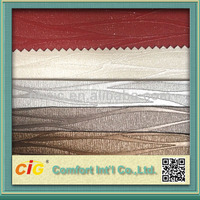 Strip Design PVC Artificial Leathers for Sofa