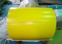 PE PVDF color coated 3000 series aluminum roofing coil jumbo roll