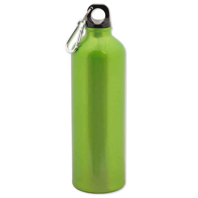 LFGB 750ml stainless steel water sports bottle with carabiner