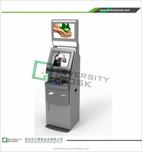 new arrival dual screen multimedia kiosks science computer touch screen kiosk