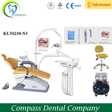 Dental unit chair, dental chair on sale,dental chair with air compressor/scaler/curing light