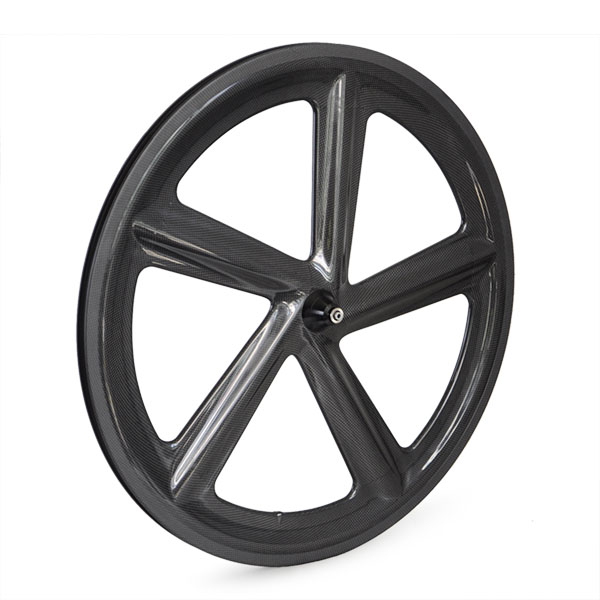 hot sale super light weight Five-Spoke carbon road bike Wheels