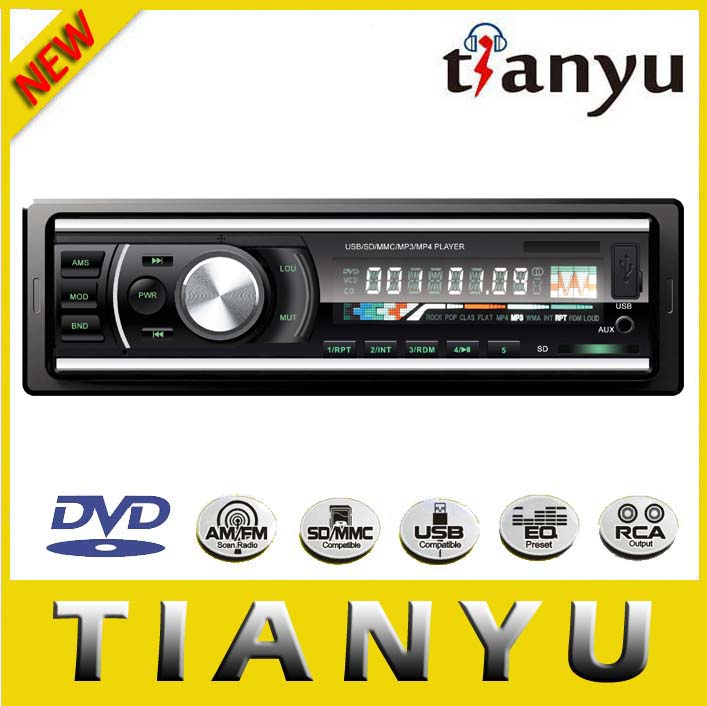 Car CD Player with USB/SD card slot LCD RDS Remote Control car audio AM/FM car cd player for audi a6