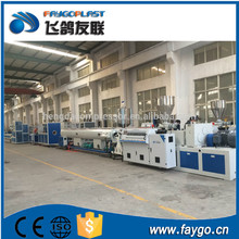 Good design high performance corrugated pvc electric conduit pipe manufacture making machine