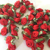 Event decor rose floral ribbon material dried flower bouquets
