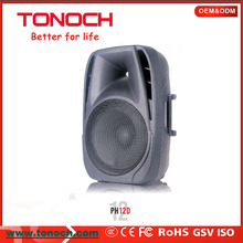 12 inch High Efficiency Active Multimedia Amplified Speaker System with usb/sd/bluetooth