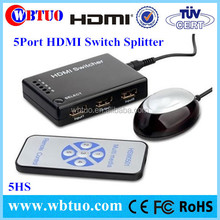 Best Seller 5 Port HDMI switch